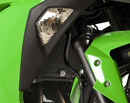 Radiator Grill Guard Cover Protector Fit Kawasaki Ninja 300 250R 2013 2014 2015