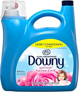 Downy Ultra Liquid Fabric Conditioner, April Fresh (138 fl. oz, 204 loads)