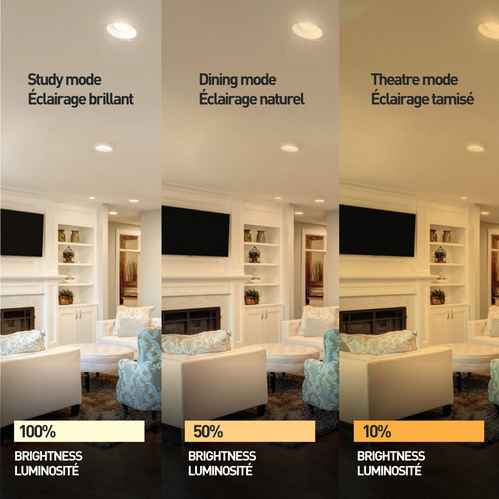 Globe Electric 91256 Recessed Lighting, White by Globe Electric (Image #10)