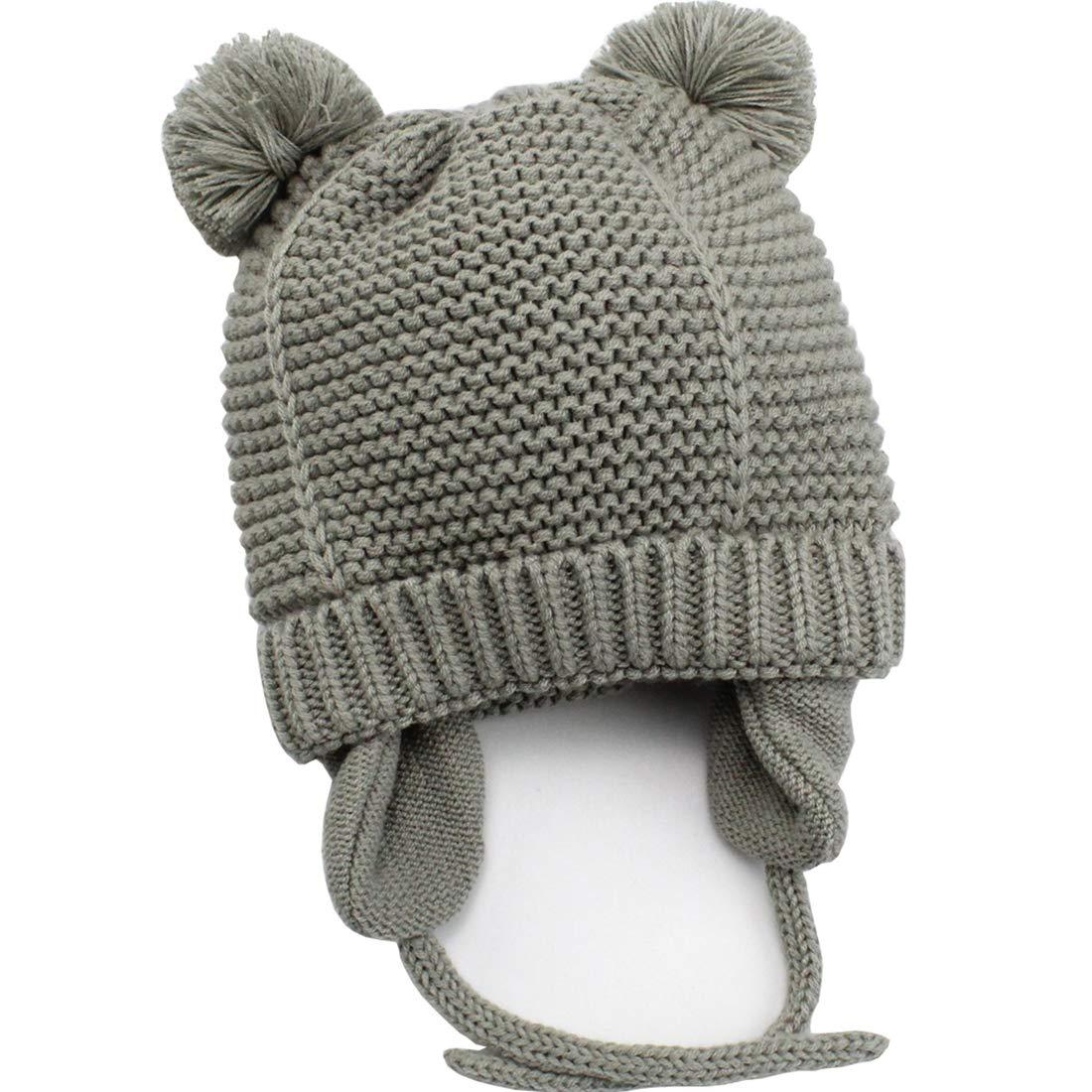 AHAHA Chapeau d'hiver pour Bébé Bonnet Hiver
