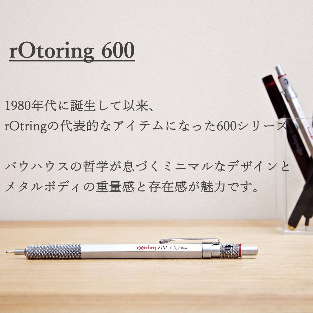 rOtring 600 2mm Drop Pencil Refill, Silver (S0502621) by Rotring (Image #2)