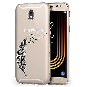 Samsung Galaxy J5 2017 Funda, ocketcase® TPU Carcasa Suave Silicona Flexible Gel Funda Resistente a los Arañazos Tapa Protectora Case Cover para ...