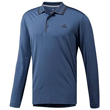 reputable site f83b9 9a122 adidas Golf Herren ultimative Langarm-Polo-Hemd - Tech Ink ...