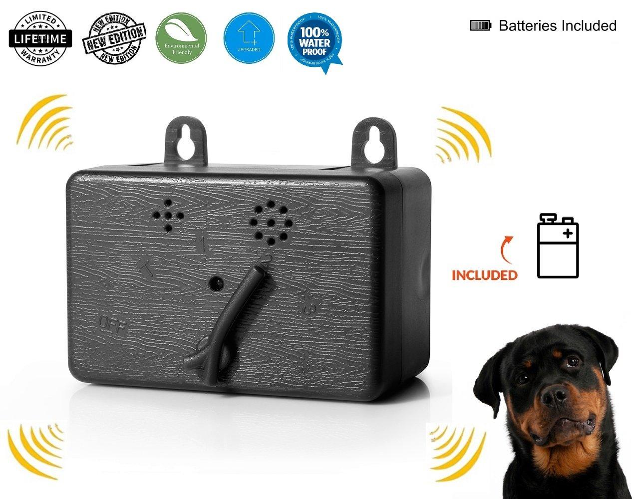 Access & Gadgets Brand New Mini Bark Control Device Outdoor Anti Barking Ultrasonic Dog Bark Control Sonic Bark Deterrents Silencer Stop Barking Bark Stop Repeller Battery Included