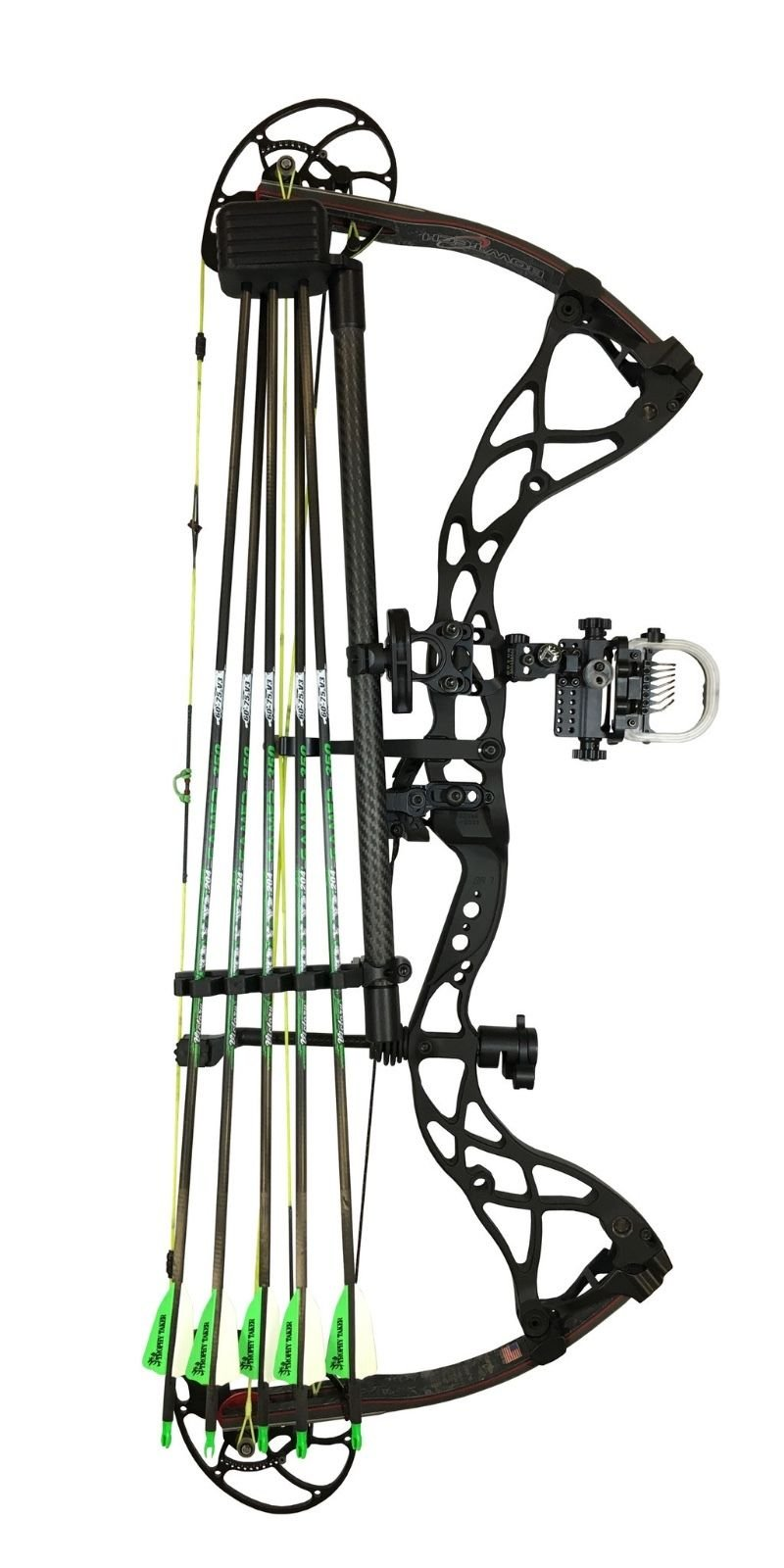 Option Archery Carbon Quivalizer (5 Arrow Capacity) by Option Archery