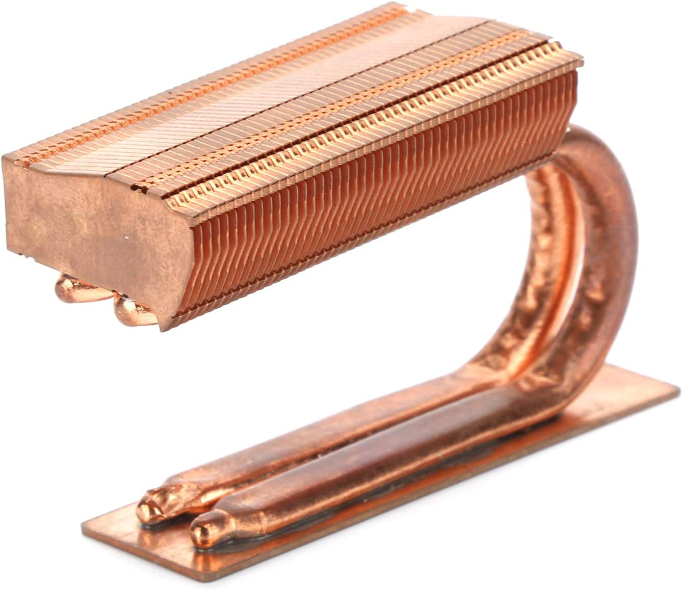gostcai Solid State Drive Cooler,Drive Heat Sink,Copper Cooling Radiator,2 Heat Pipes,Fast Heat Dissipation and Easy Installation,for M.2 2280 SSD.