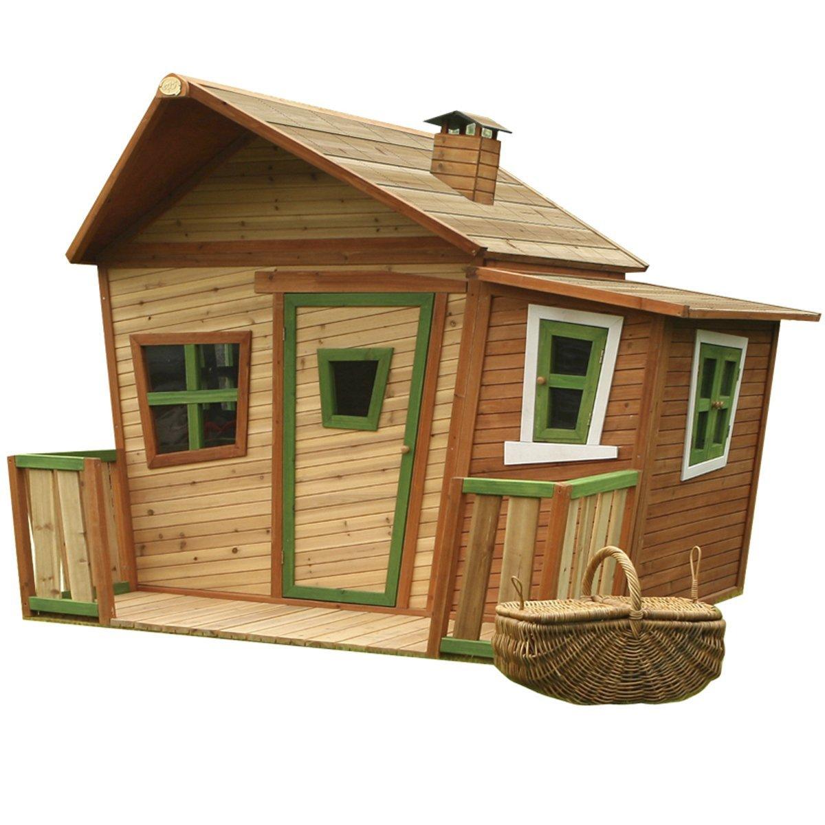 Axi Kinder Spielhaus Lisa mit Terrasse und Anbau