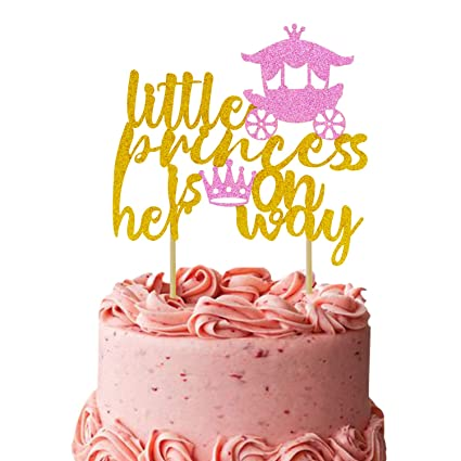 Decoración para tarta de revelación de género, para niños ...