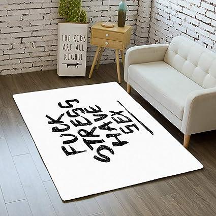 Stress In Rug.Amazon Com Door Mat Indoor Area Rugs Living Room Carpets
