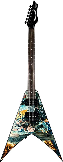 Amazon.com: Dean V Dave Mustaine Guitar, United Abomination: Musical  InstrumentsAmazon.com