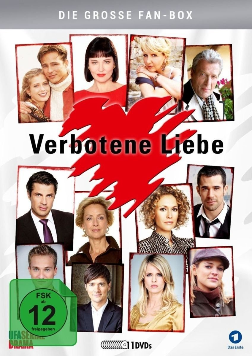 Verbotene Liebe - Die große Fan-Box 11 Discs Alemania DVD ...