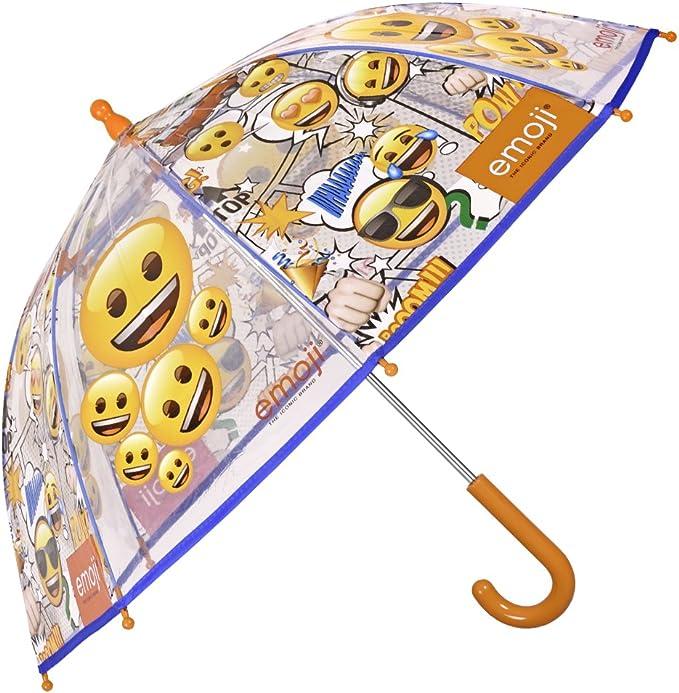 GOTTA Parapluie Coupe-Vent pour Enfant Gar/çon et Fille 3 Couleurs Jaune Ouverture Automatique avec Poign/ée Courb/ée et Tissu Uni Imprim/é Dinosaures