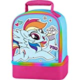 MY LITTLE PONY RAINBOW DASH HASBRO Thermos Dual-Chamber Lunch Tote Box Bag