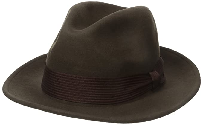 Amazon.com  Brixton Men s Nelson Fedora  Clothing 15894c77d19