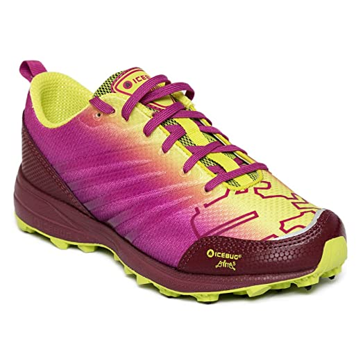 Icebug Women's Anima5-L BUGrip Running Shoes Poison / Mulberry L10