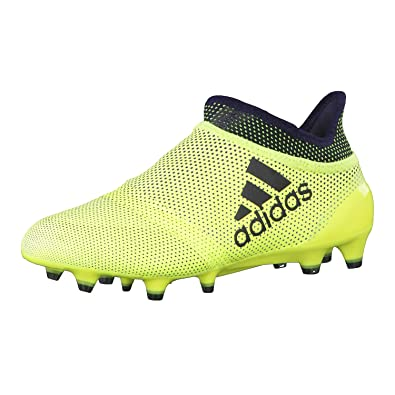 competitive price 0acf2 10d10 adidas Unisex-Kinder X 17+ Purespeed Fg J Fitnessschuhe, Gelb (Amasol Tinley