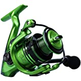 YONGZHI Fishing Reels,13+1BB Light Weight and Ultra Smooth Powerful Spinning Reels for Saltwater and Freshwater Fishing