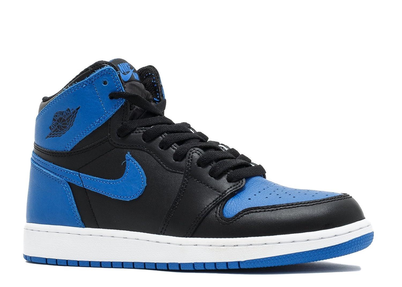Black, varsity royal-white Nike - AIR JORDAN 1 MID