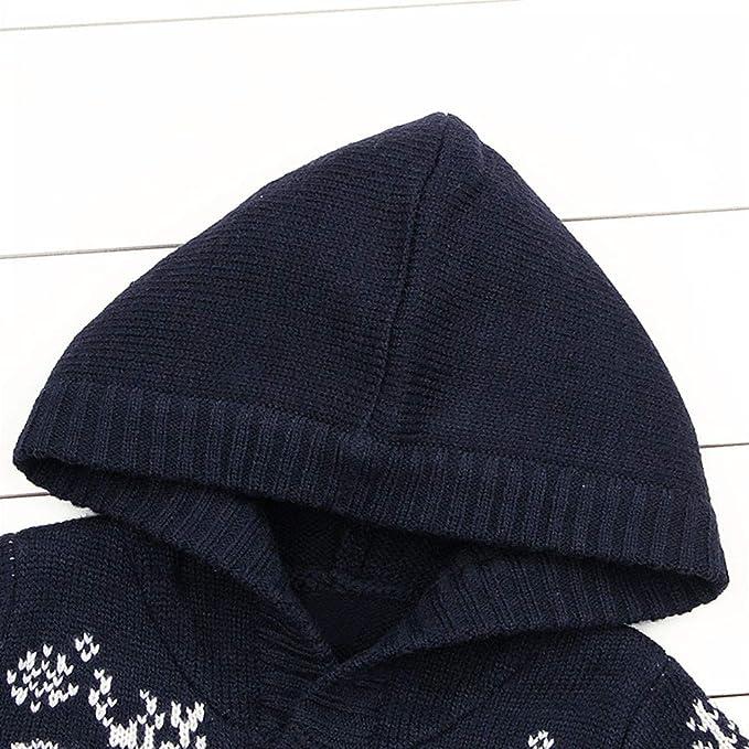 Amazon.com: Sikye Infant Baby Girls Warm Coats Deer Button ...
