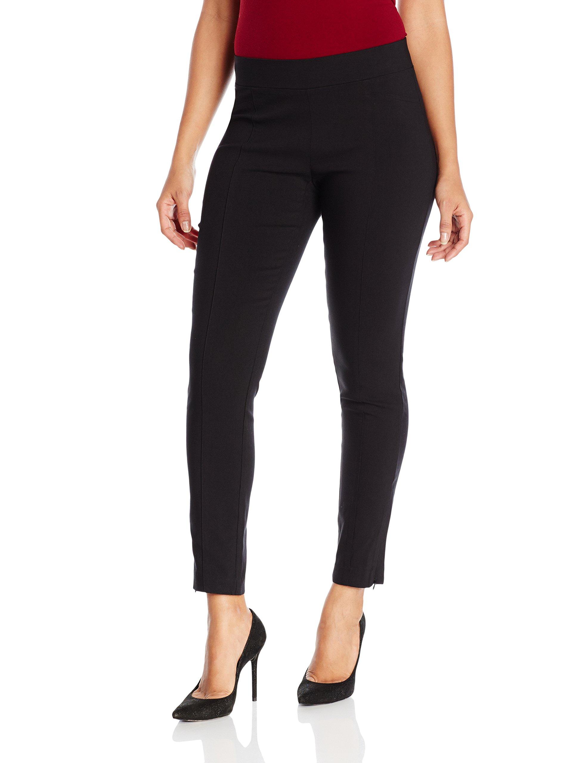 Rafaella Women's Petite Size Supreme Stretch Pant, Black, 10P