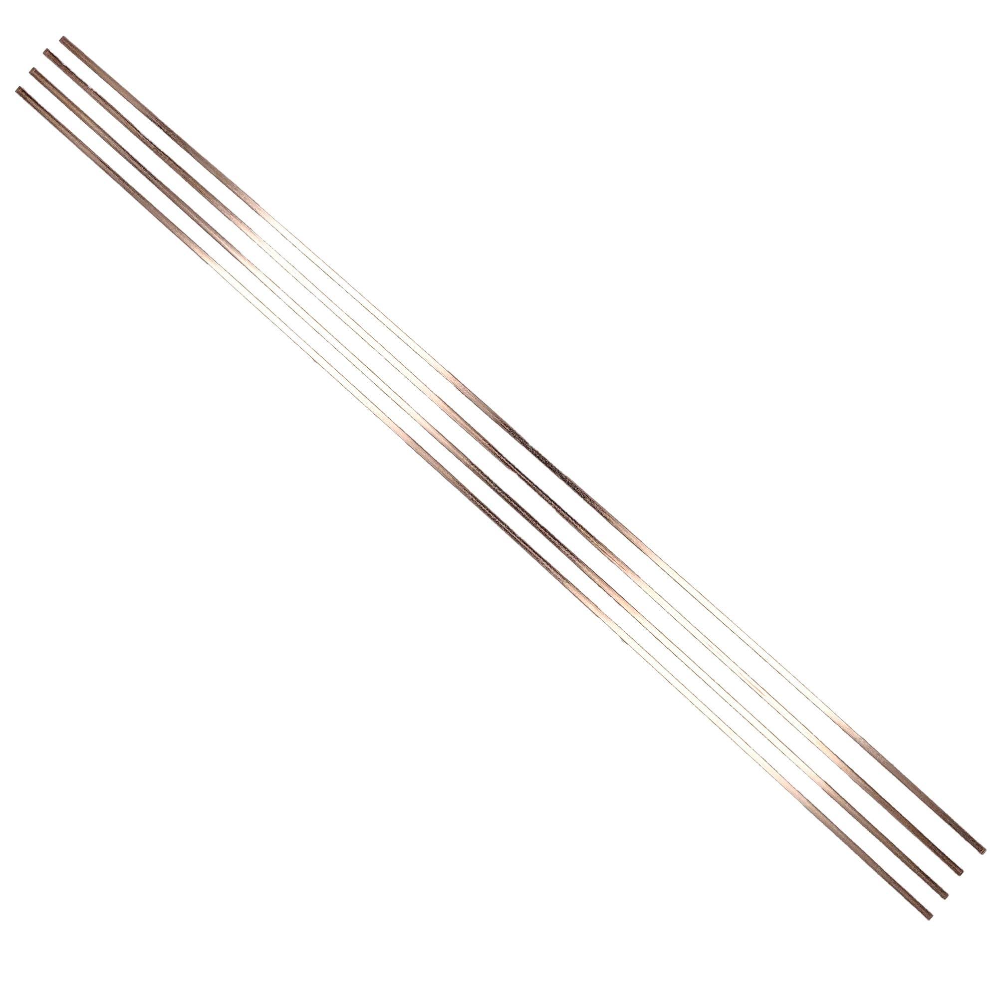 Supplying Demand 15% Silver Solder Brazing Rods 4 19.5'' Sticks Perfect For HVAC Refrigeration