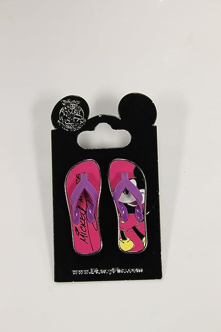 Amazon.com: Disney Pin – Sandalias/chanclas, diseño de ...