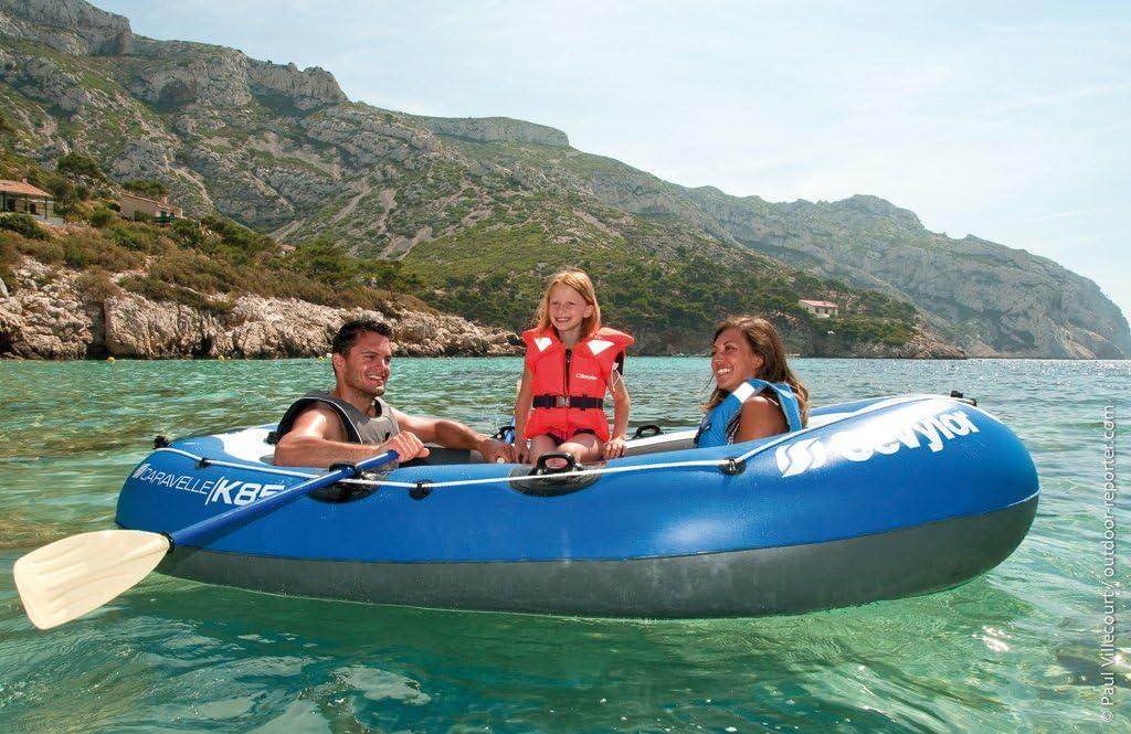 2 pers Sevylor Bateau gonflable en PVC Caravelle K85 Kit - Bleu