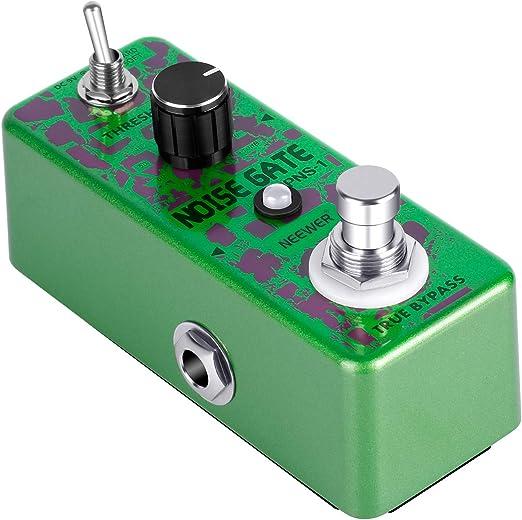 Soft Noise Reduction NEW Donner Noise Killer Guitar Effect Pedal Gate 2 Modes