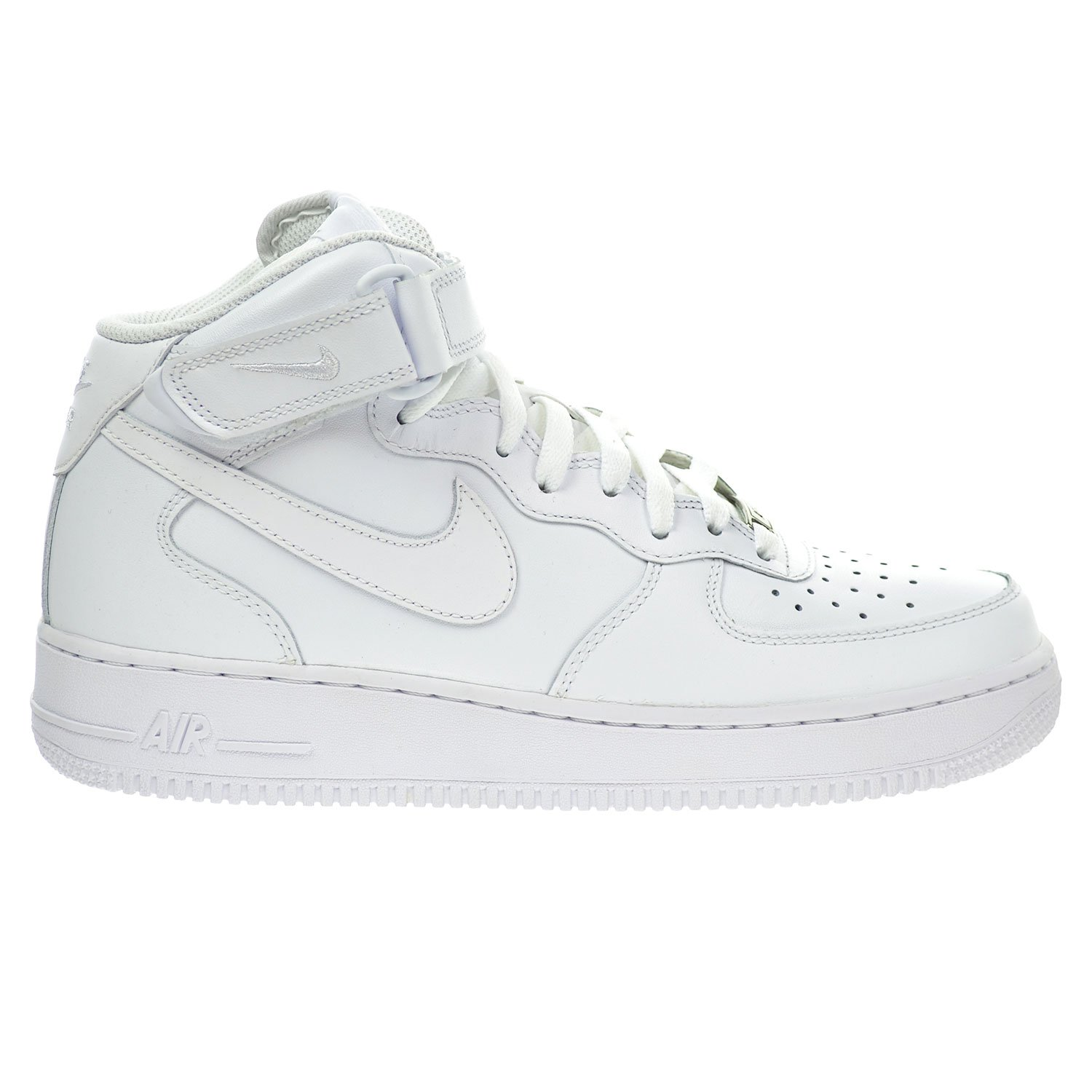 best loved ca6b9 b606c Galleon - Nike 315123-111  Mens Air Force 1 Mid White White Basketball  Sneaker (10.5 D(M) US)