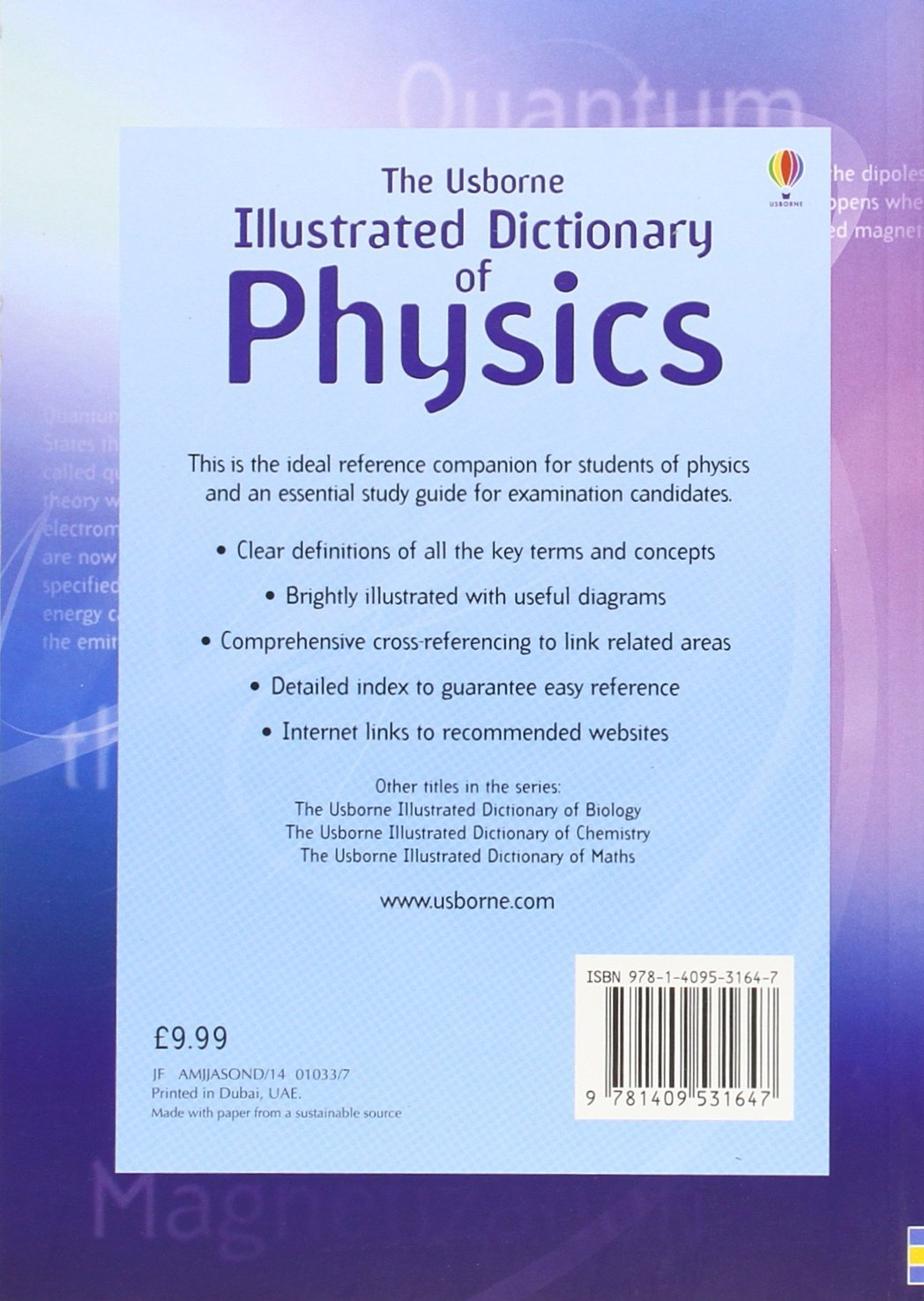 Illustrated Dictionary of Physics. J. Wertheim, C. Oxley and C. Stockley:  Jane Wertheim: 9781409531647: Amazon.com: Books