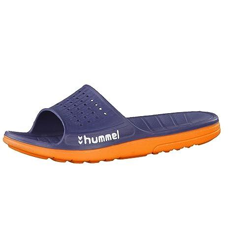 pretty nice 23c62 5ccfc Hummel sports sandal, flip flops. Colour: dark blue, orange ...