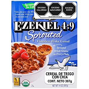 Food For Life - Sprouted Flourless Flake Cereal Flax + Chia - 14 oz.