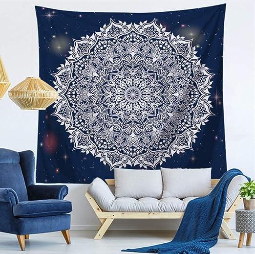 ALYNJJD Mandala Tapisserie Tenture Murale Tapis Tapis De ...