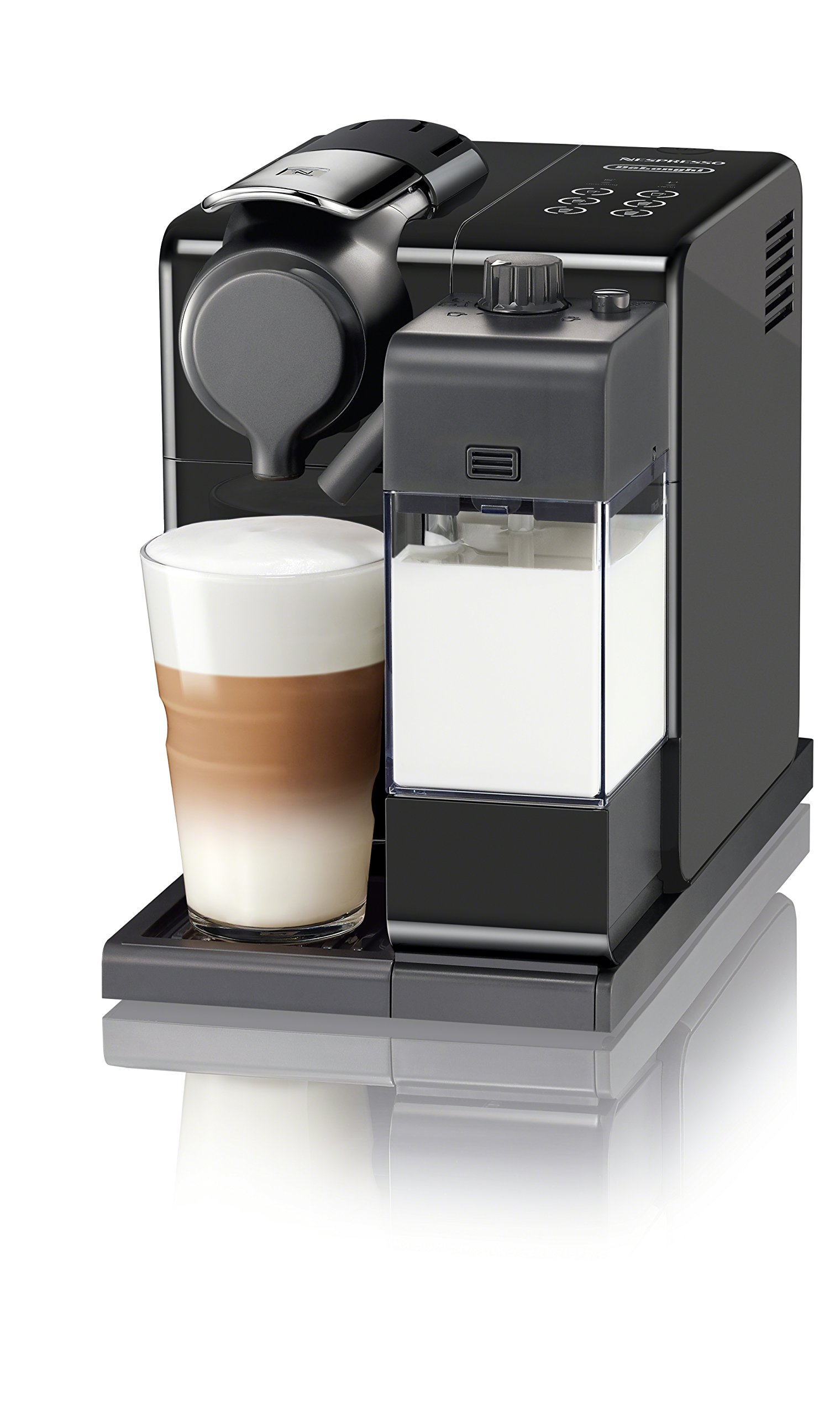 Nespresso by De'Longhi EN560B Lattissima Touch Original Espresso Machine with Milk Frother by De'Longhi, Washed Black by Nespresso by De'Longhi