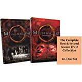 Millennium: The Complete First and Second Seasons DVD Collection (Season 1 and Season 2 12-Disc Set)