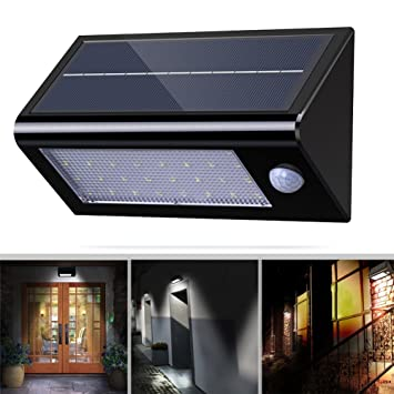 32 led solar security lights wireless waterproof outdoor light with 32 led solar security lights wireless waterproof outdoor light with motion sensor for garden fence outside mozeypictures Image collections