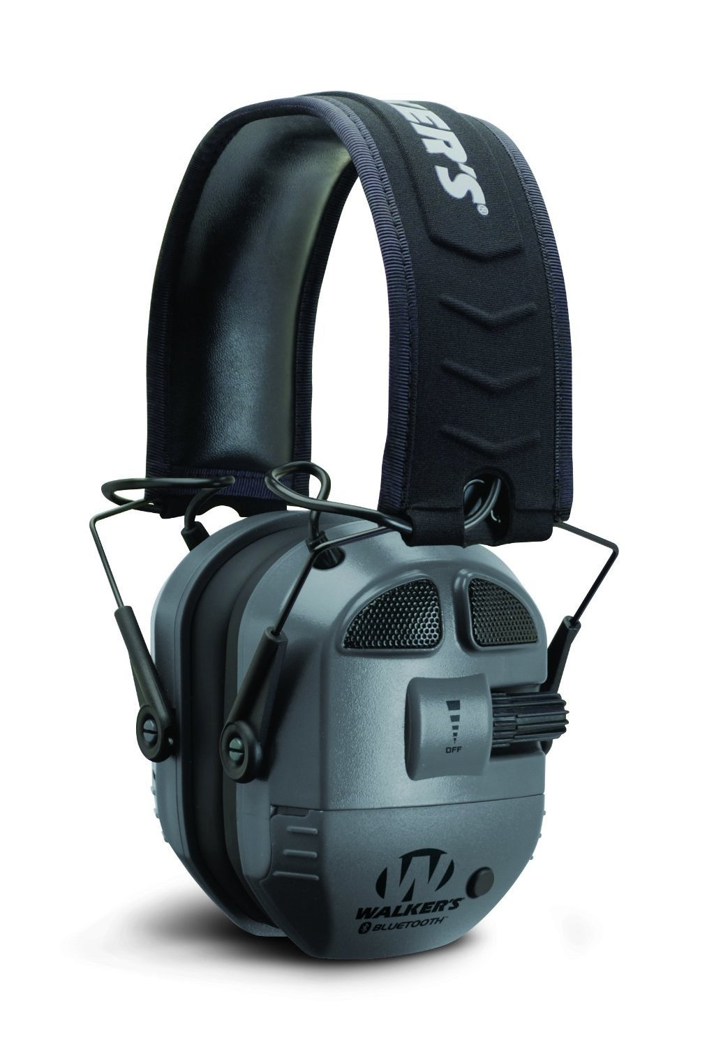 GSM Outdoors GWP-XPMQ-BT Walkers Game Ear Ultimate Quad Analog Muff with Blue Tooth