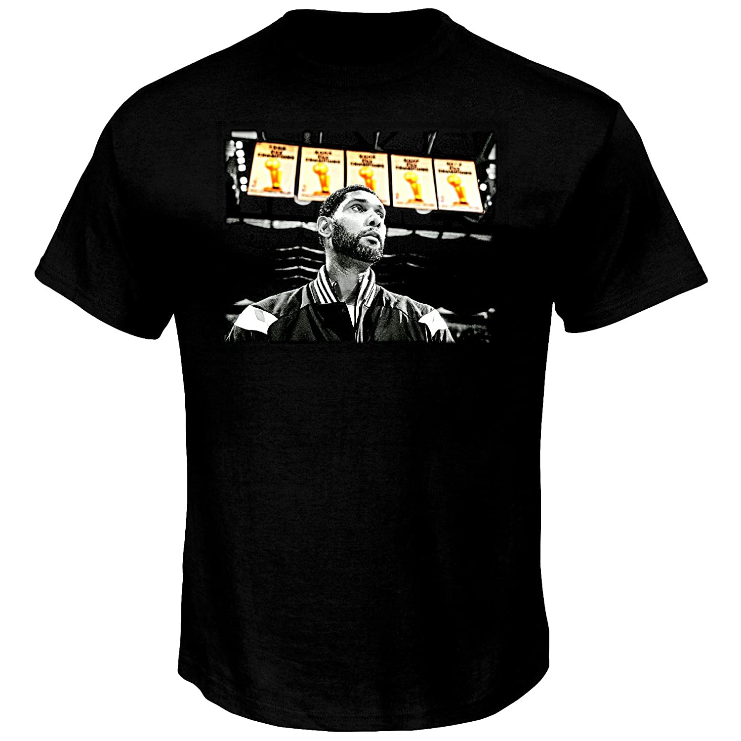 Amazon.com   Tim Duncan San Antonio Spurs NBA Youth Player Banner T-Shirt    Sports   Outdoors 88e218915
