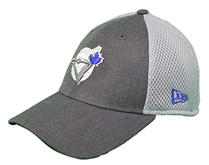 04b871c2de27 Image Unavailable. Image not available for. Color  New Era Toronto Blue  Jays 39THIRTY Cooperstown Heather Front Neo ...