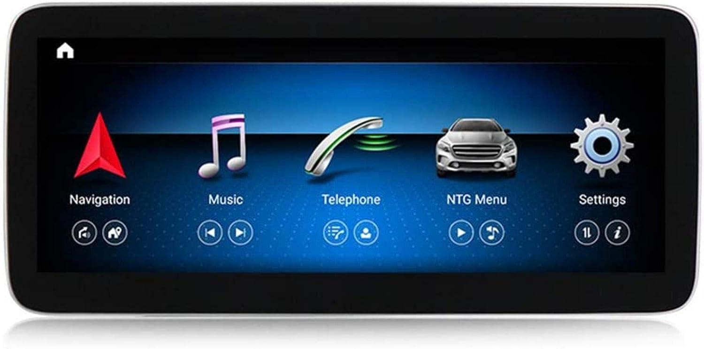 Cinturón de Enlace de Radio Digital estéreo Doble DIN Coche Bluetooth USB Sistema de navegación GPS Sygic Espejo de tráfico de Radio Navigationdroid Benz W176 2013-2018