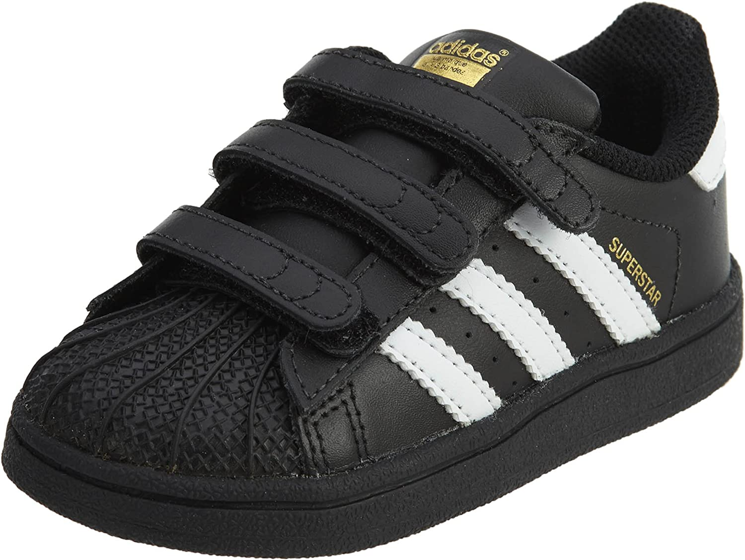 Bangladesh exceso Dirigir  Amazon.com | adidas Infants Originals Superstar Shoes #BZ0419 | Sneakers
