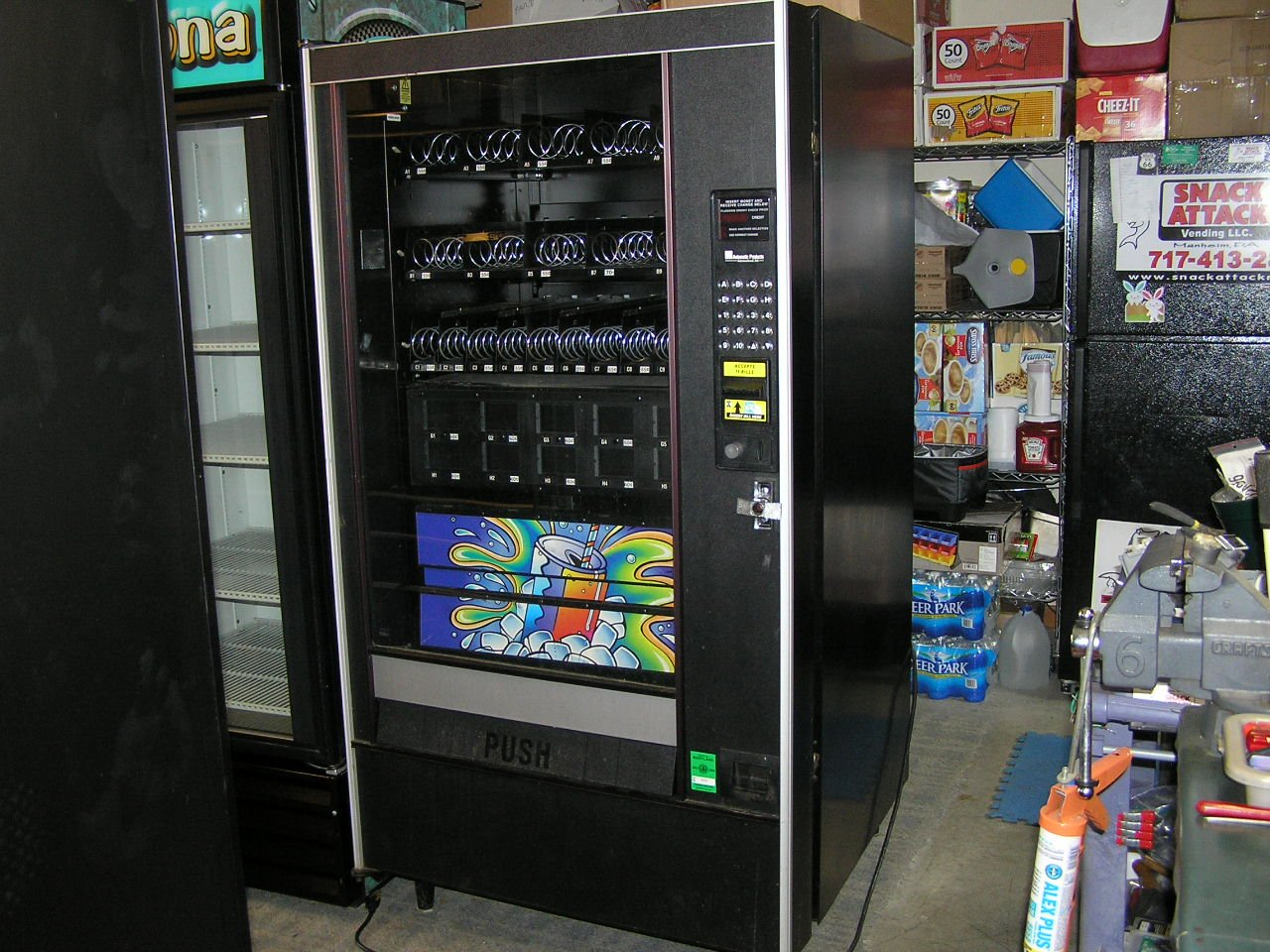 (AP) AUTOMATIC PRODUCTS 4600, 6600, 7600, 112, 113, LCM (2) SOUP SPIRALS 6'' Ct./! by Snack Attack Vending (Image #5)