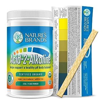 Amazon.com: acid-2-alkaline Conjunto orgánico alkalizing en ...