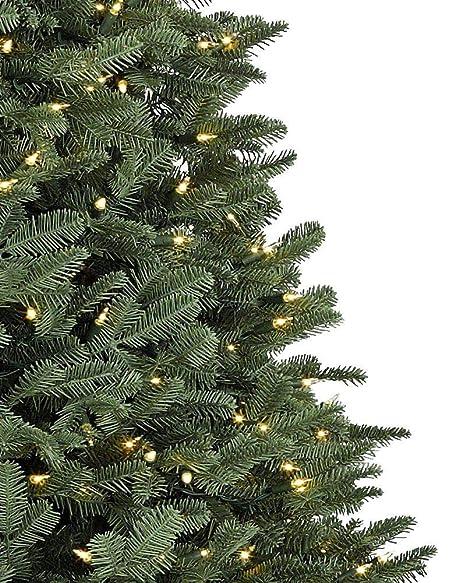 Balsam Christmas Trees.Balsam Hill Bh Balsam Fir Premium Prelit Artificial Christmas Tree 7 5 Feet Clear Lights