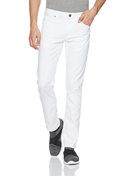 United Colors of Benetton Men s Skinny Fit Jeans (203763011 White 30W x ... 241554422679