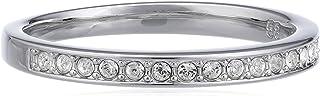 Swarovski - 1121067, Anello in metallo con cristallo swarovski