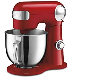 Cuisinart SM-50R Stand Mixer, Red