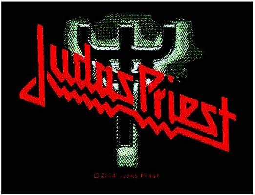 Judas Priest Logo parche Fork: Amazon.es: Ropa y accesorios