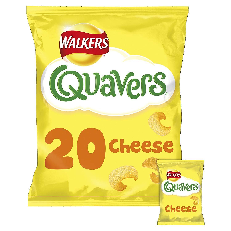 Walkers Quavers Cheese 22 Pack by Walkers