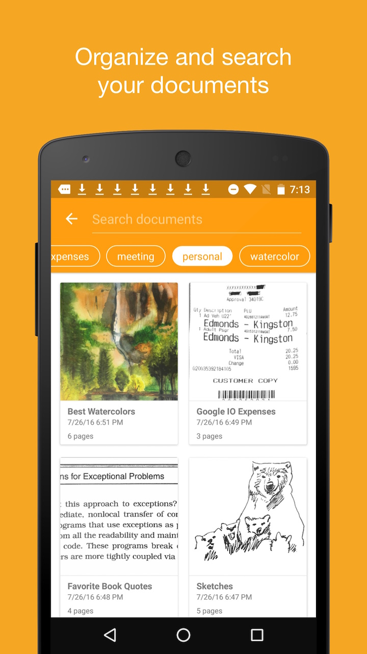 Amazon com: Genius Scan+: Appstore for Android